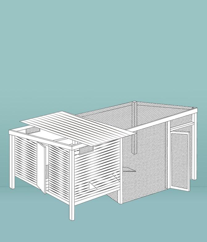 Faut-il construire un poulailler fait-maison ?