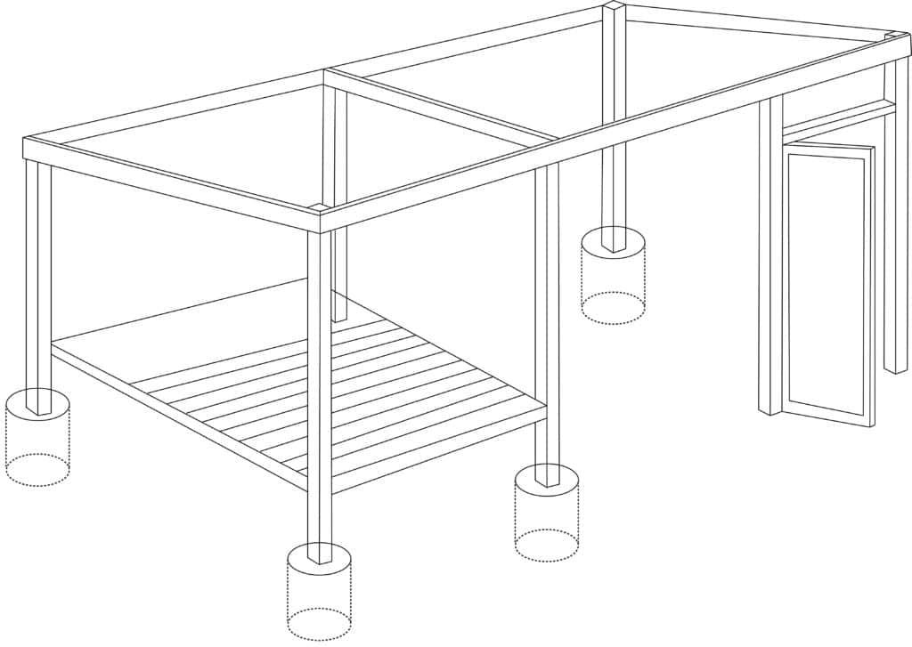 2.8 : Fixer les lames de plancher